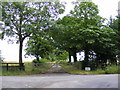 TM2864 : Entrance to Great Lodge Farm by Adrian Cable