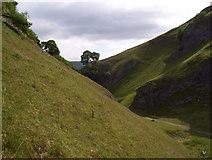 SK1482 : Cave Dale at Castleton by Martin Speck