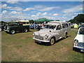 TQ9141 : Morris Minor Van at Darling Buds Classic Car Show by Oast House Archive