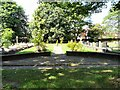 SJ9593 : Hyde Chapel Garden of Remembrance by Gerald England