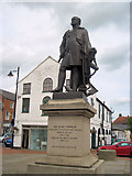 TF4066 : Statue of Sir John Franklin in Spilsby by John Firth