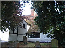 TR1859 : By Fordwich churchyard by E Gammie