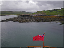NM4256 : Looking south-southeast along the Loch Mingary shoreline by C Michael Hogan