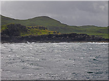 NM4057 : The sea becomes rough at Quinish Bay by C Michael Hogan