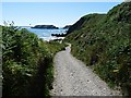 SM7807 : The approach to Marloes Sands by Robin Drayton