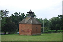 TG1908 : Brick Dovecot, Earlham Park by N Chadwick