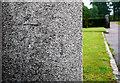 J4780 : Bench Mark, Bangor by Rossographer