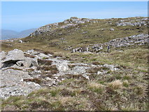 NB0301 : Approaching the summit of Taransay by David Purchase
