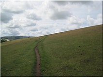 NU0112 : Bridleway near Great Ryle by Les Hull