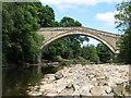 NY6761 : The bridge at Bridge End by Mike Quinn