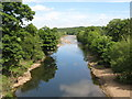 NY6761 : The River South Tyne downstream from Bridge End by Mike Quinn