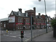 SU4212 : Southampton, leisure centre by Mike Faherty