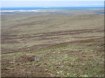 NF8069 : The southern slopes of Maireaval, North Uist by David Purchase