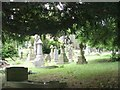 SE1309 : All Saints Graveyard - viewed from New Road by Betty Longbottom