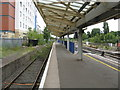 SU9780 : Slough Station - platform 6 by Peter Whatley