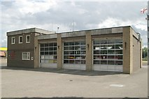 TM1179 : Diss fire station by Kevin Hale