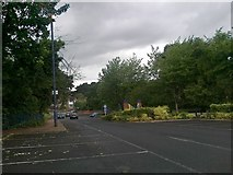 SP0278 : Entrance to Northfield station car park by Andrew Abbott