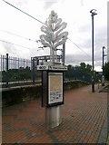 SP0278 : Travel information at Northfield station by Andrew Abbott