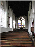 TM3389 : St Mary's church in Bungay - north aisle by Evelyn Simak