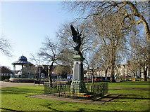 ST1774 : War memorial, Grange Gardens, Cardiff by Jaggery