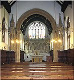 TM3389 : The Catholic church of St Edmund, Bungay - view east by Evelyn Simak