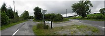 H5475 : Fernagh Road / Loughmacrory Road by Kenneth  Allen
