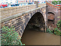 SJ8990 : River Mersey Wellington Road Bridge by David Dixon
