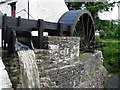 C1209 : Water wheel, Newmills by Kenneth  Allen