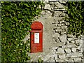SD4576 : GR Post Box at Far Arnside by Gary Rogers