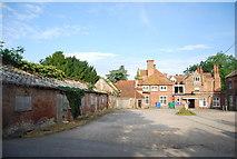 TG1908 : Courtyard, Earlham Hall, Earlham Park by N Chadwick