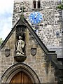 NZ1665 : Church of St. Michael & All Angels, Newburn (detail) by Andrew Curtis