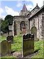 NZ1665 : Graveyard, St. Michael & All Angels, Newburn by Andrew Curtis