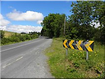 C1010 : R250 Road at Doon Glebe by Kenneth  Allen