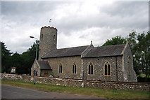 TG1807 : St Andrew's Church, Colney by N Chadwick