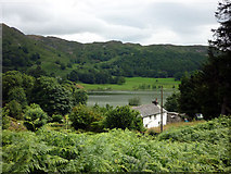 NY3404 : Crag Head cottage, Loughrigg Tarn by Karl and Ali
