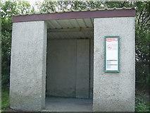 SM8625 : Bus shelter at Trefgarn Owen by Martyn Harries