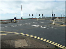 TQ1602 : Charity walkers reach East Worthing (2) by Basher Eyre