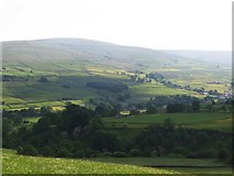 NY9038 : Weardale west of Westgate by Mike Quinn