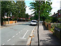SP5009 : Looking east from Wentworth Road into Aldrich Road, Oxford by Brian Robert Marshall