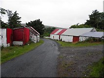 C0300 : Farm buildings, Brockagh by Kenneth  Allen