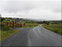 C0407 : Road at Tullyhonour by Kenneth  Allen