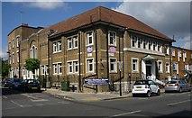 TQ3084 : St Giles Christian Mission, Bride Street, London N7 by Jim Osley