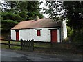 C1209 : Cottage, Newmills by Kenneth  Allen