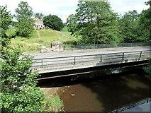 NZ7805 : Road bridge from the Beggar's bridge, Glaisdale by Chris Allen