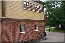SK1461 : Hartington Signal Box by Stephen McKay