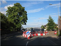 TL4557 : Roadworks in Brooklands Avenue by Given Up