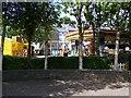 W6350 : Funfair, Pier Road, Kinsale - Town Plots Townland by Mac McCarron