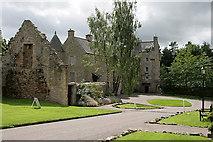 NT6517 : Ferniehirst Castle by Walter Baxter