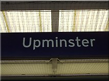 TQ5686 : Upminster station by Phillip Perry