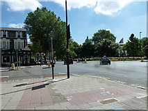 TQ3179 : Crossroads of Kennington and Lambeth Roads by Basher Eyre